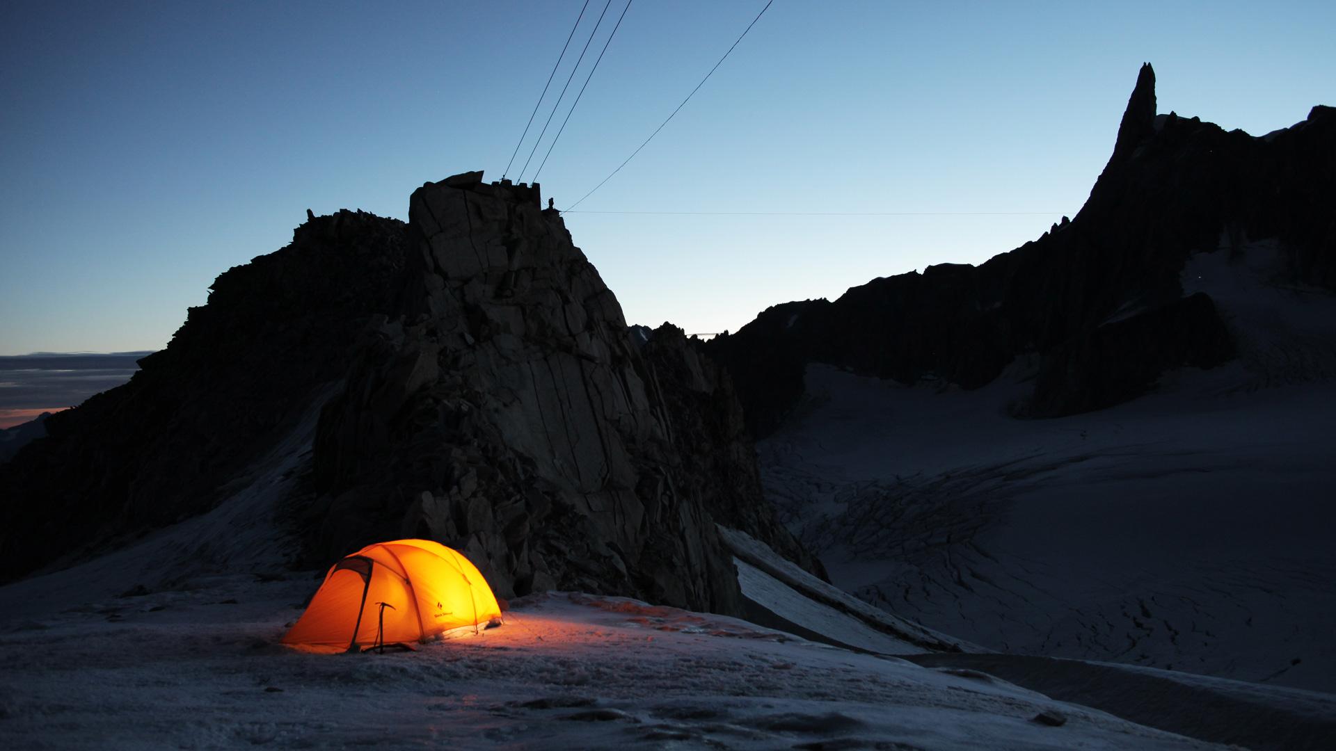 Ночью в горах