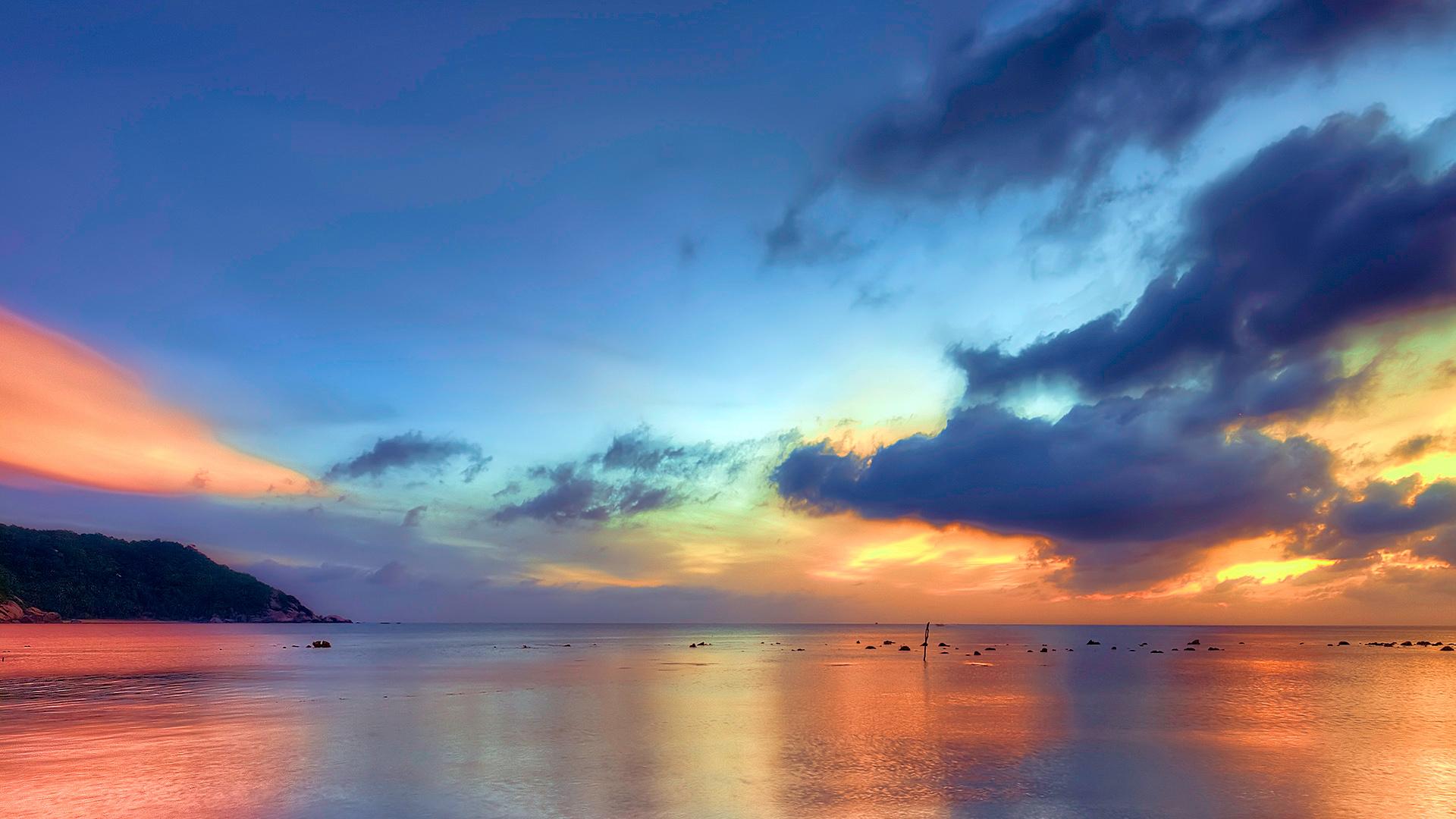 Закат в Таиланде