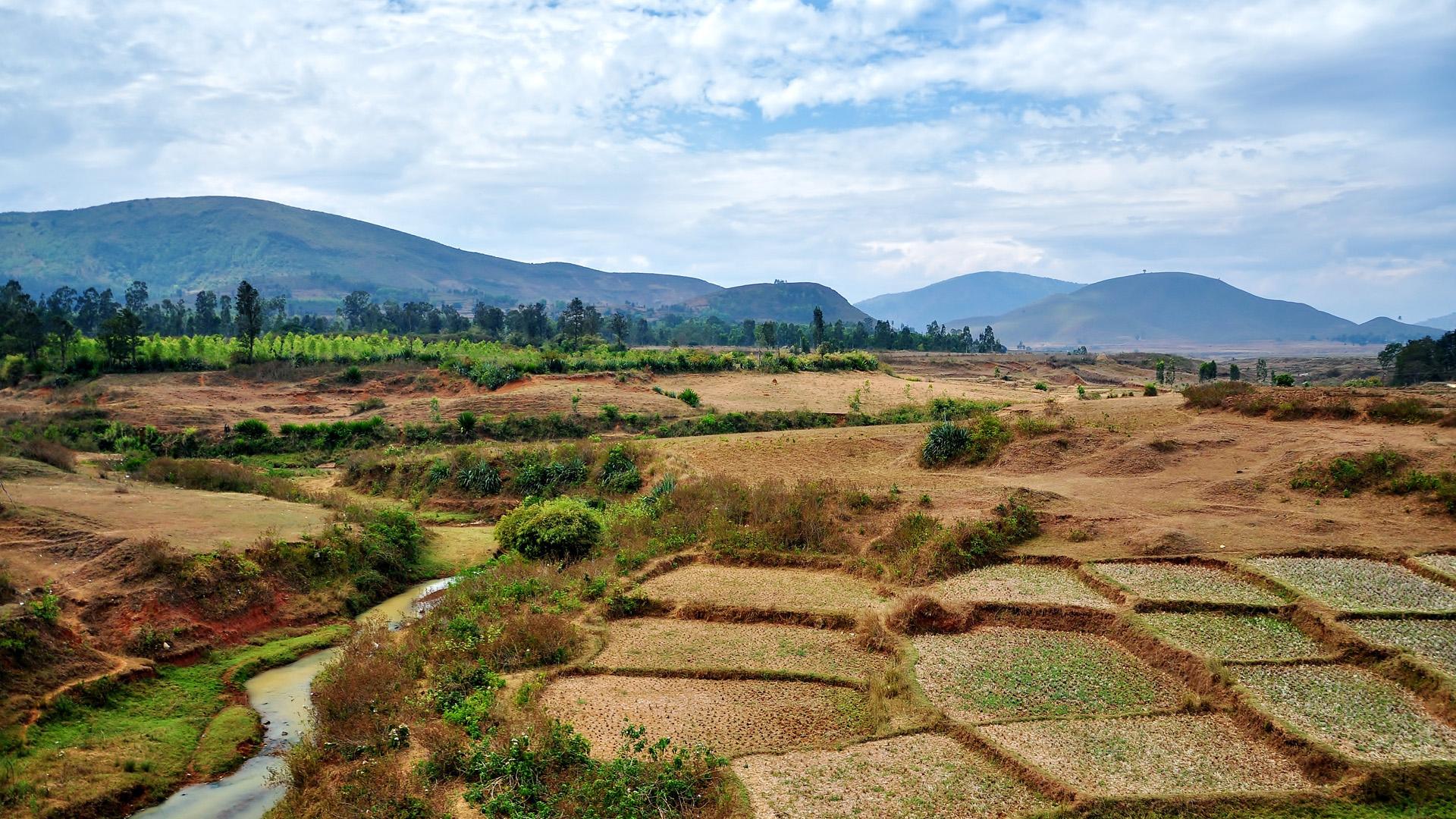 Долина в Индии