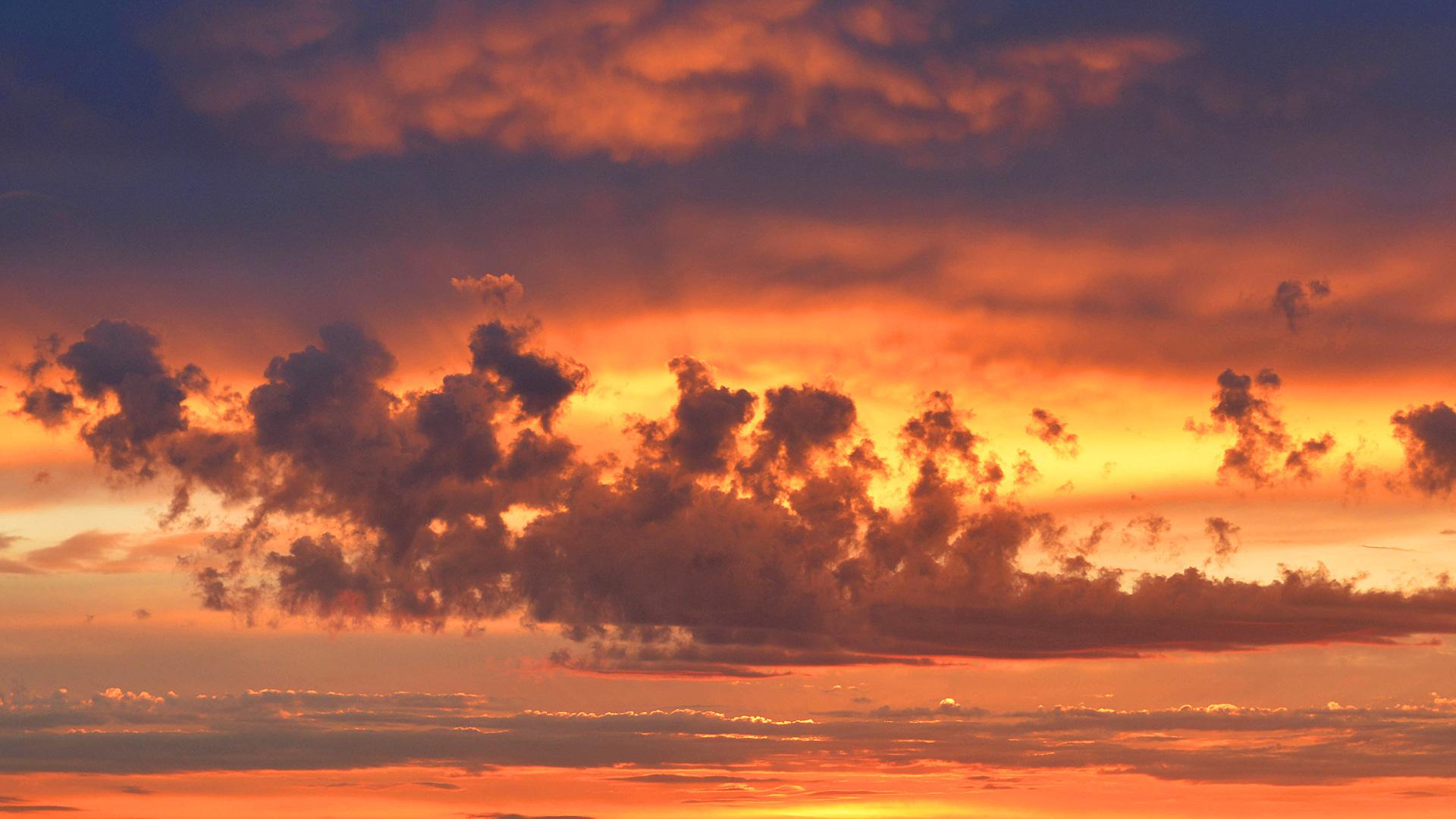 Огненные облака