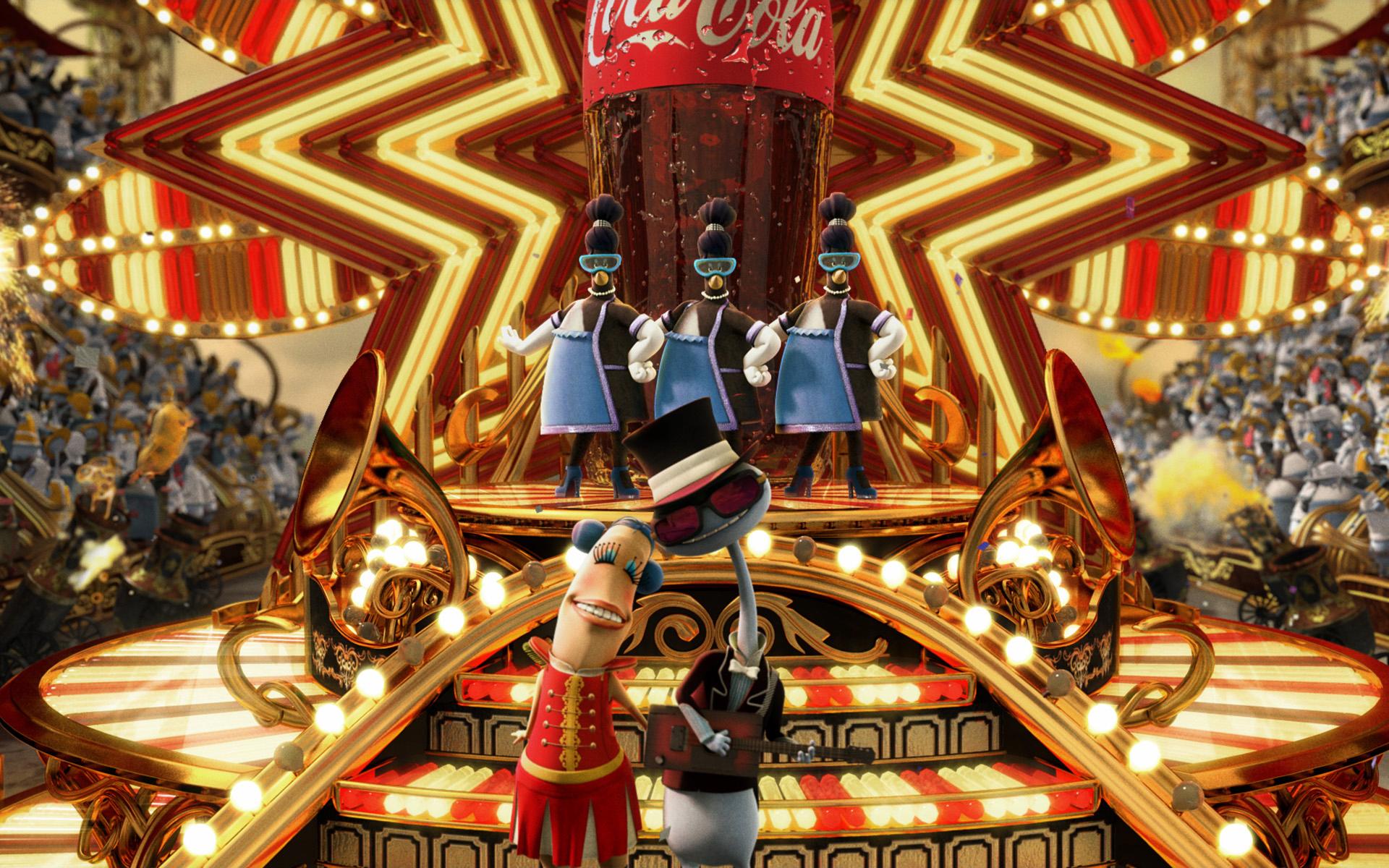 Музыкальная Coca Cola