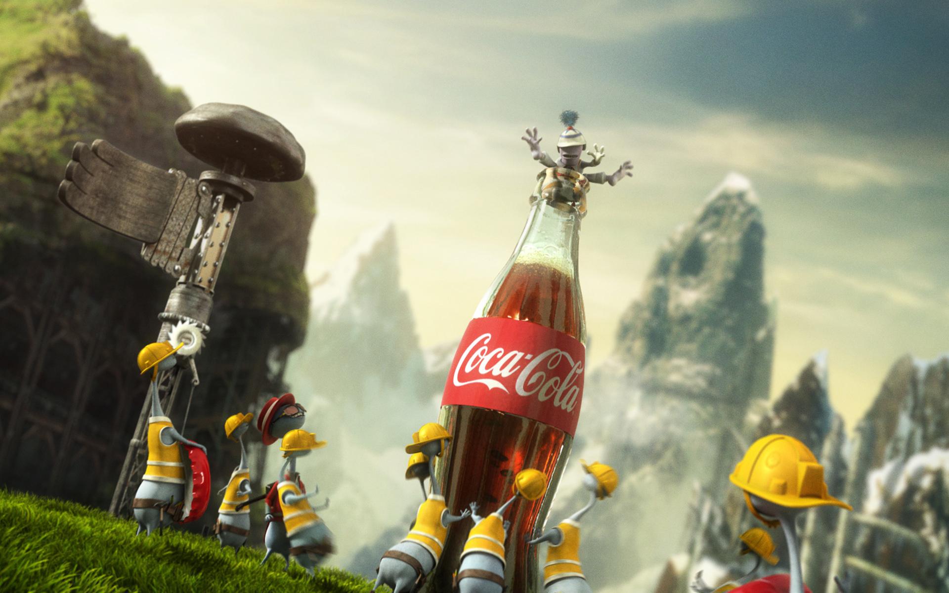 Зажигай с Coca Cola