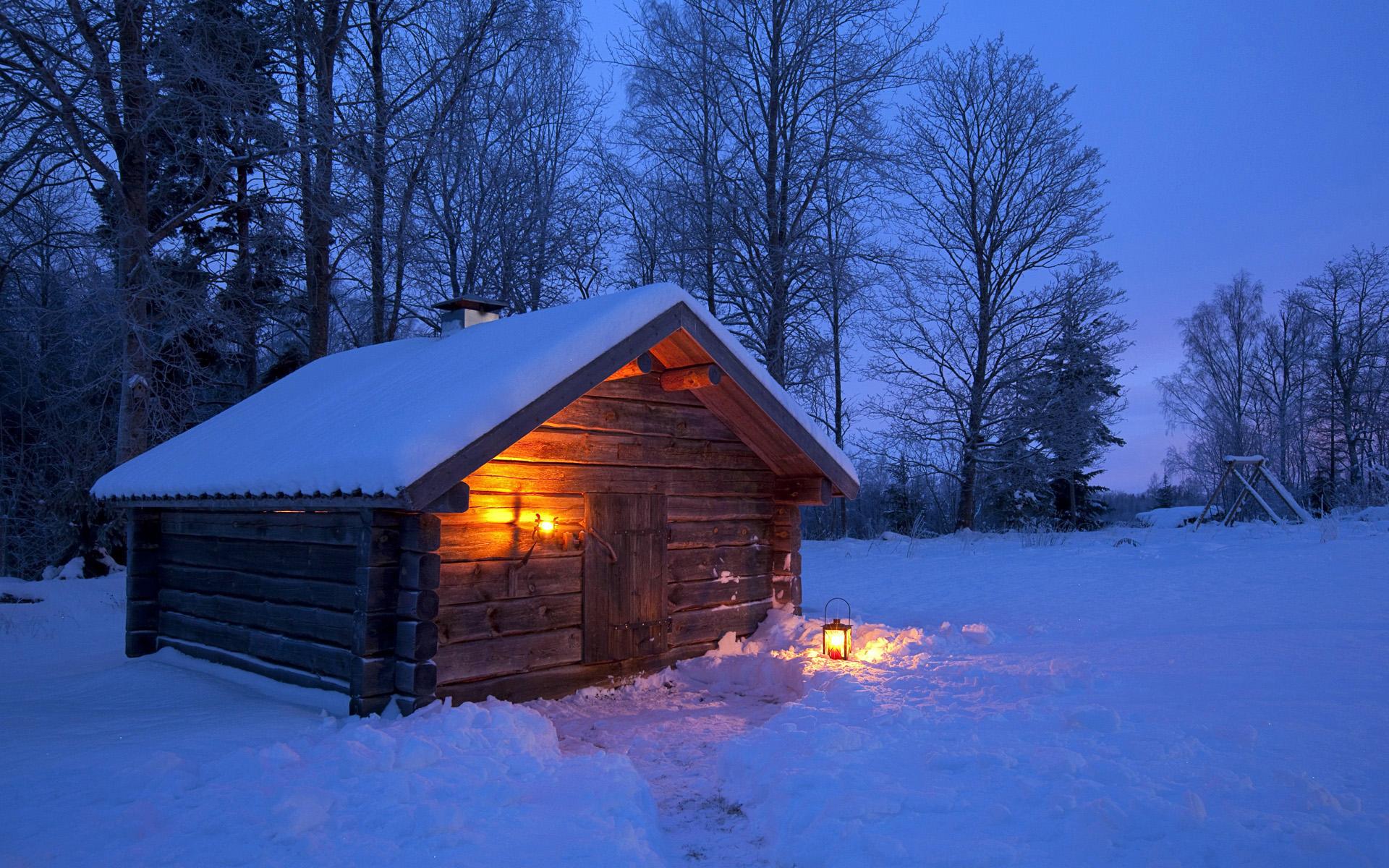 Скоро зимний рассвет