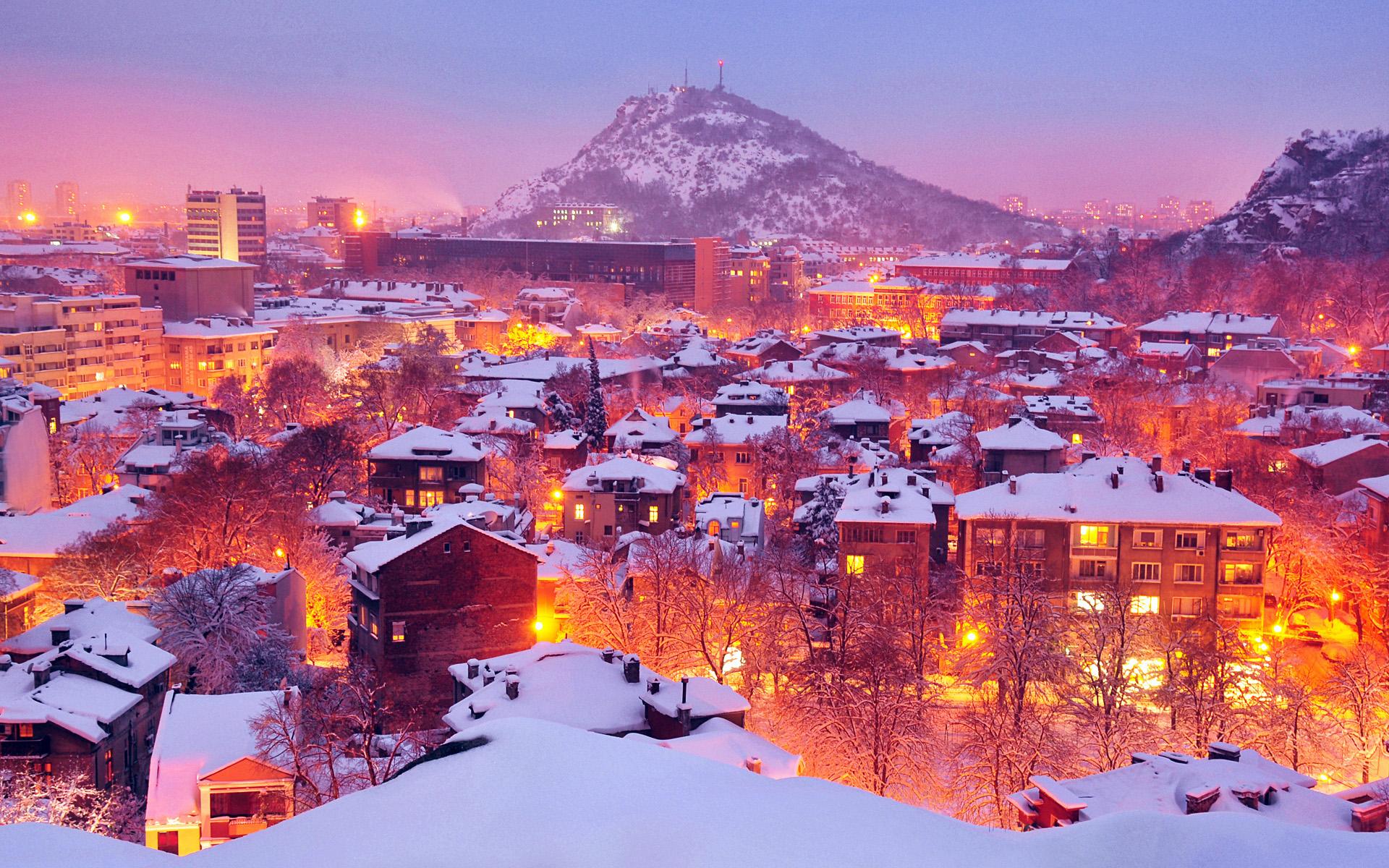 Огни старого города