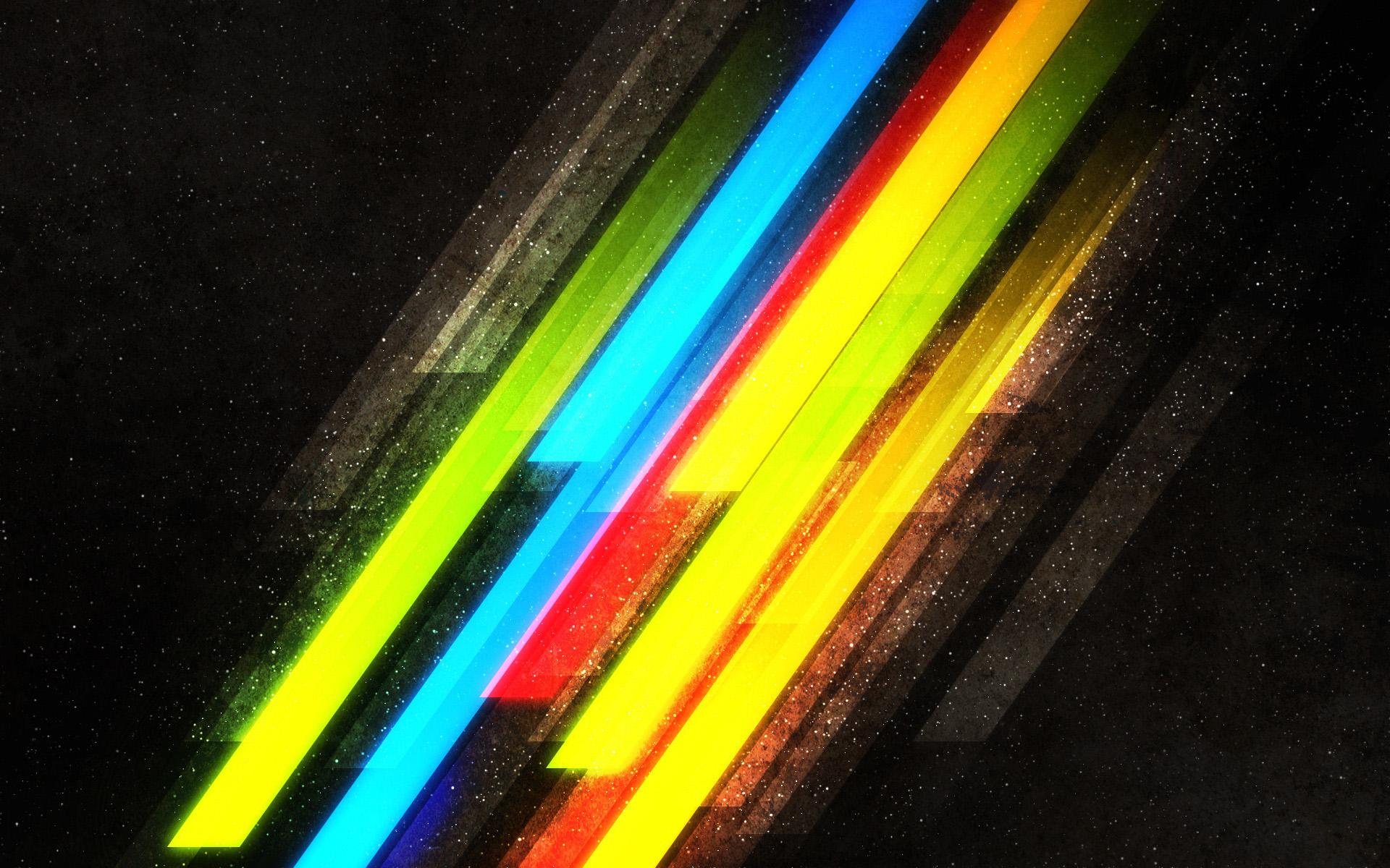 Цветные полосы