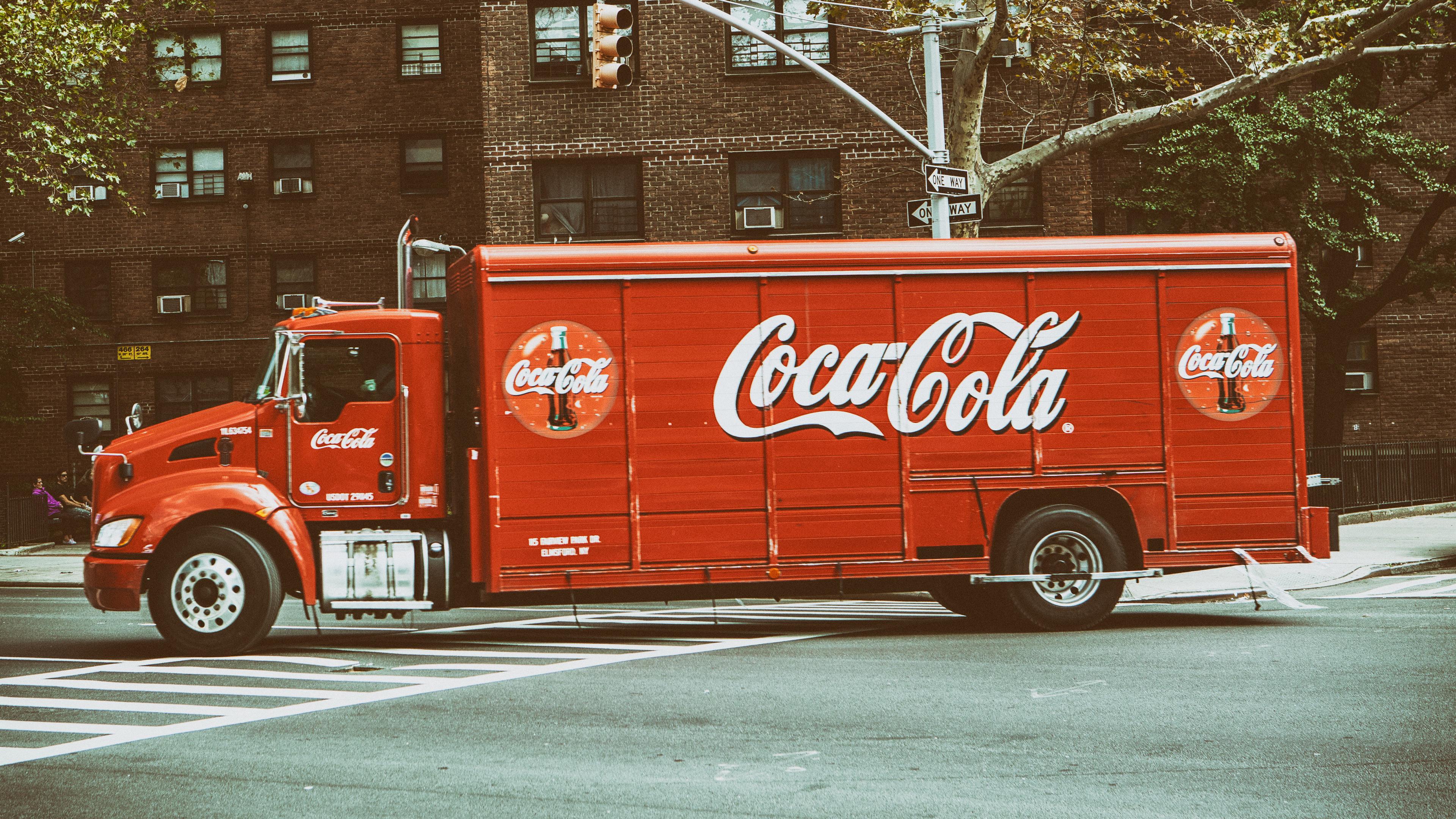 Грузовик Coca Cola