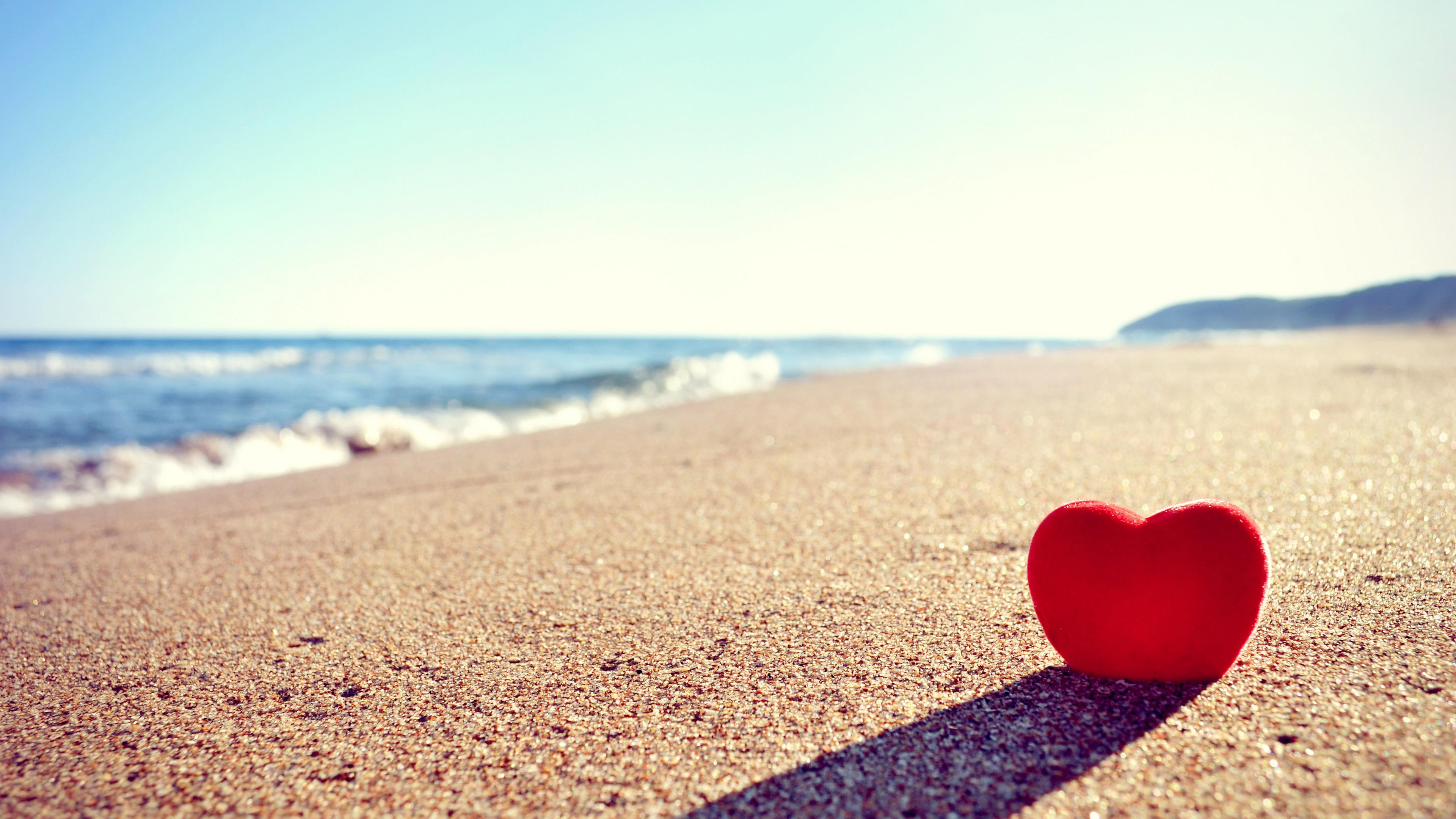 Сердце  на  берегу