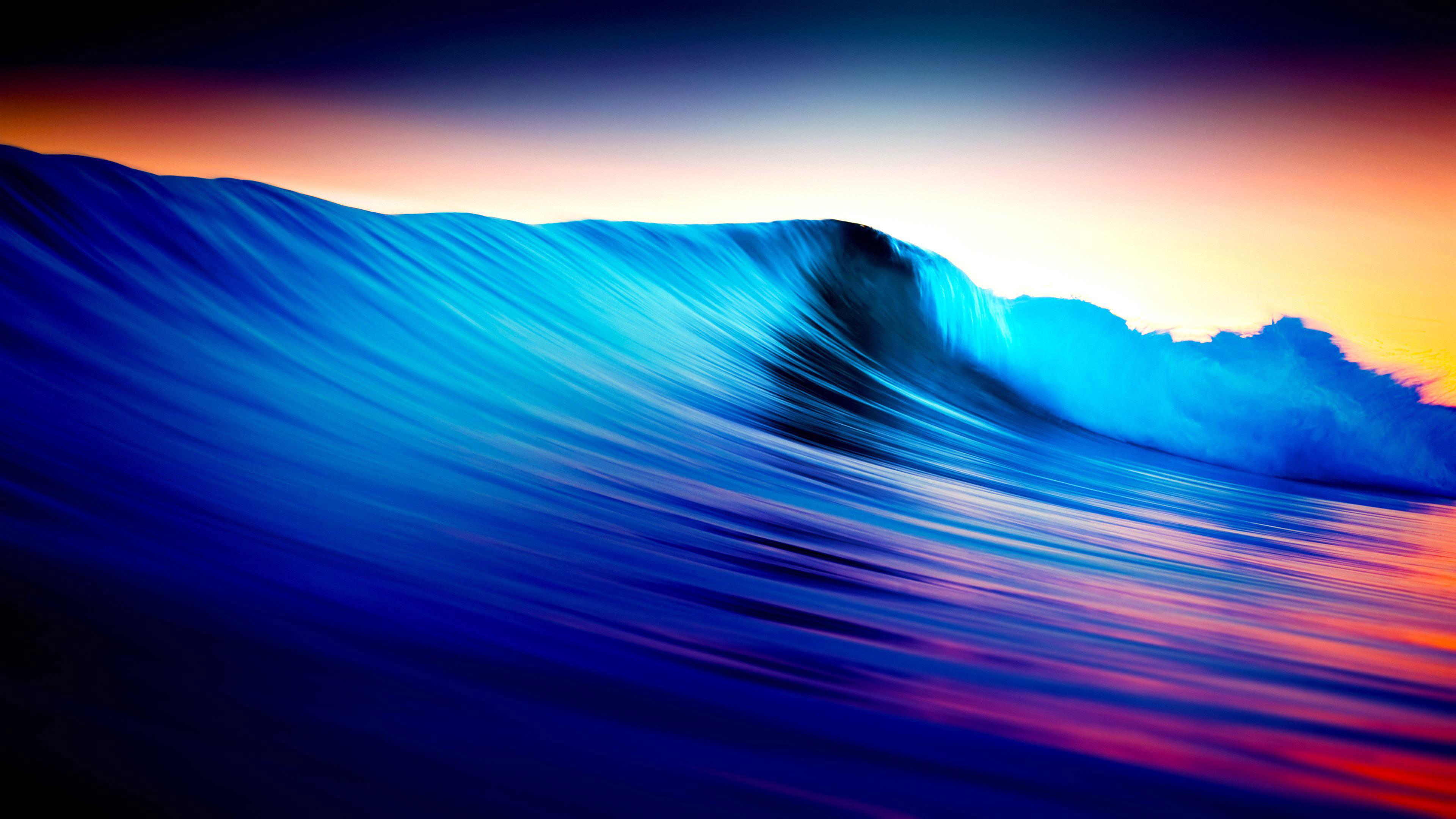 Вершина морской волны