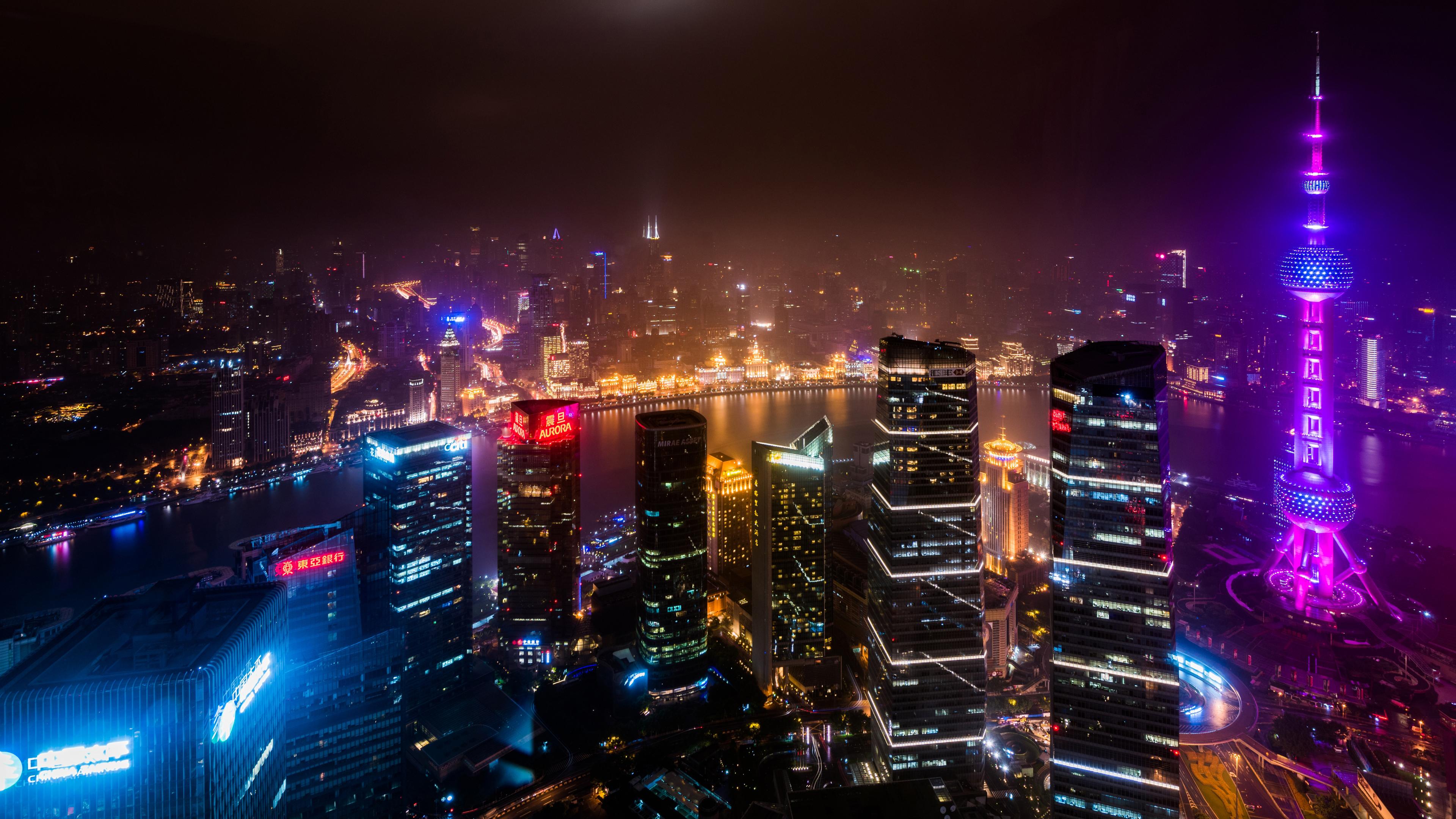 Обои фонари, вечерний город, ночной город. Города foto 8
