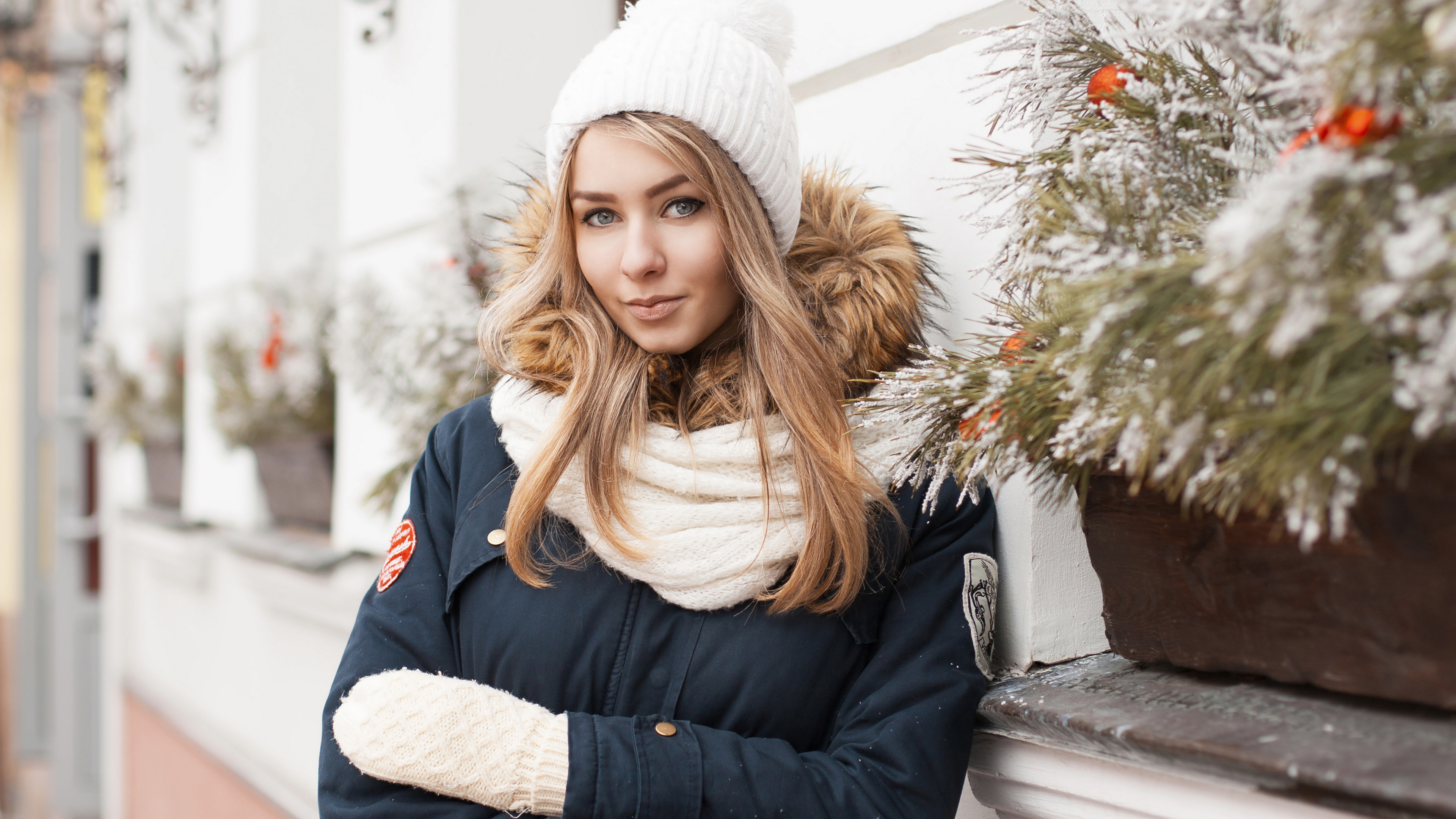 Девушка-зима