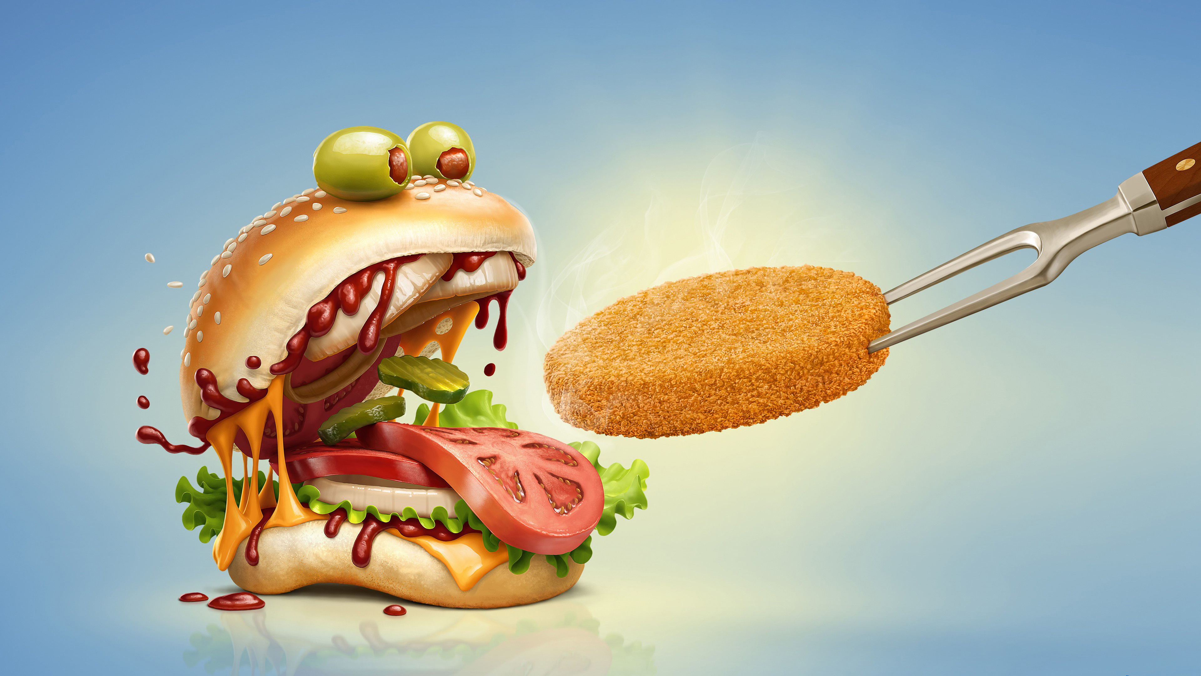 Аппетитный бутерброд
