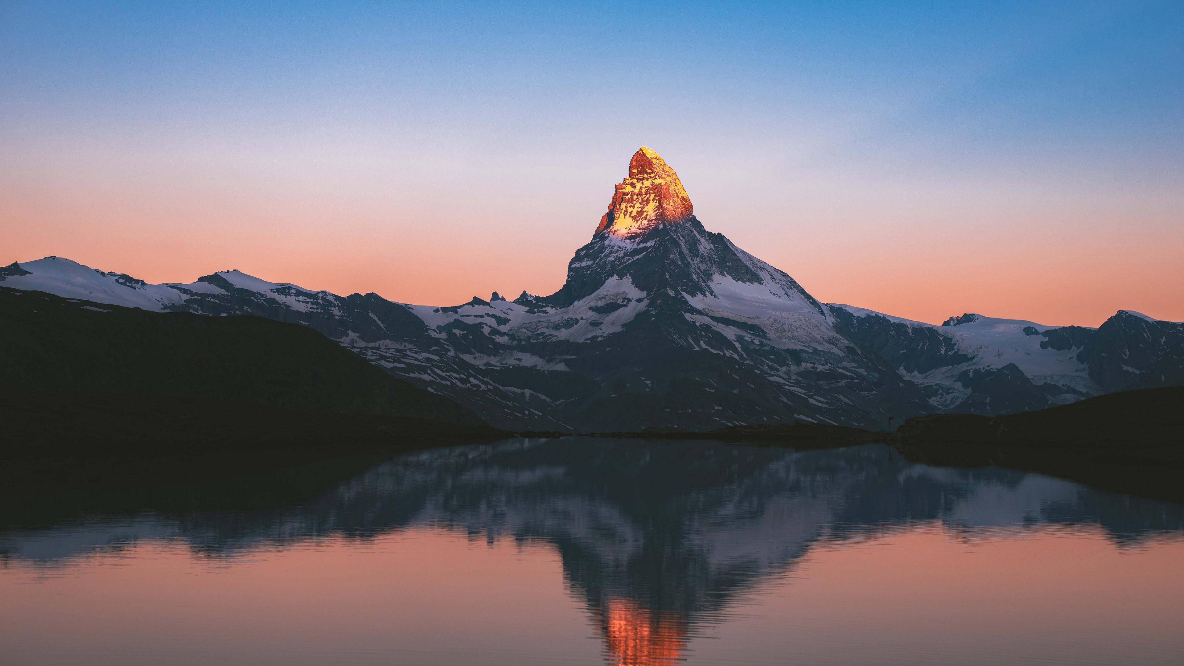 Золотая вершина горы