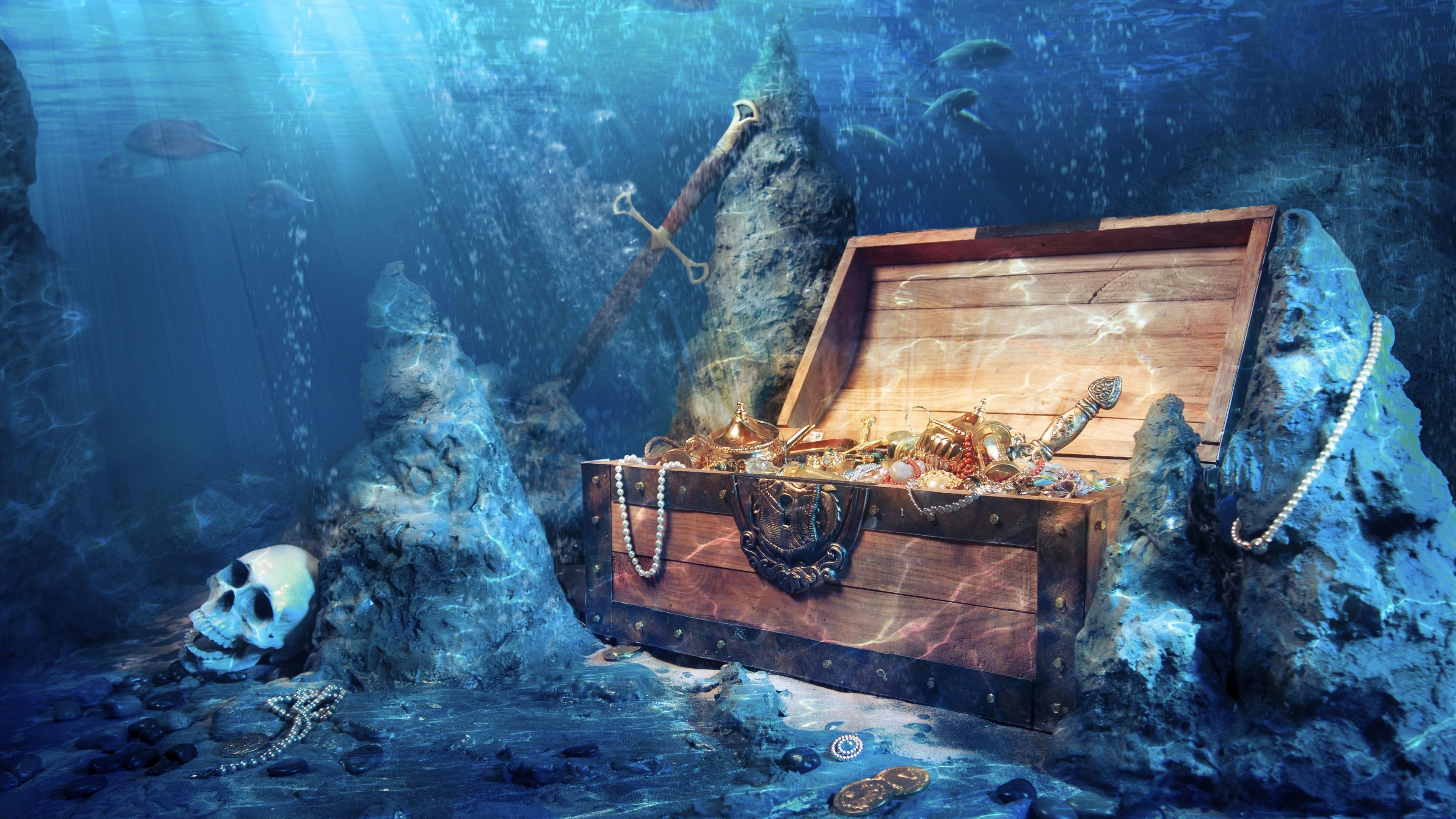 Сокровища на дне морском