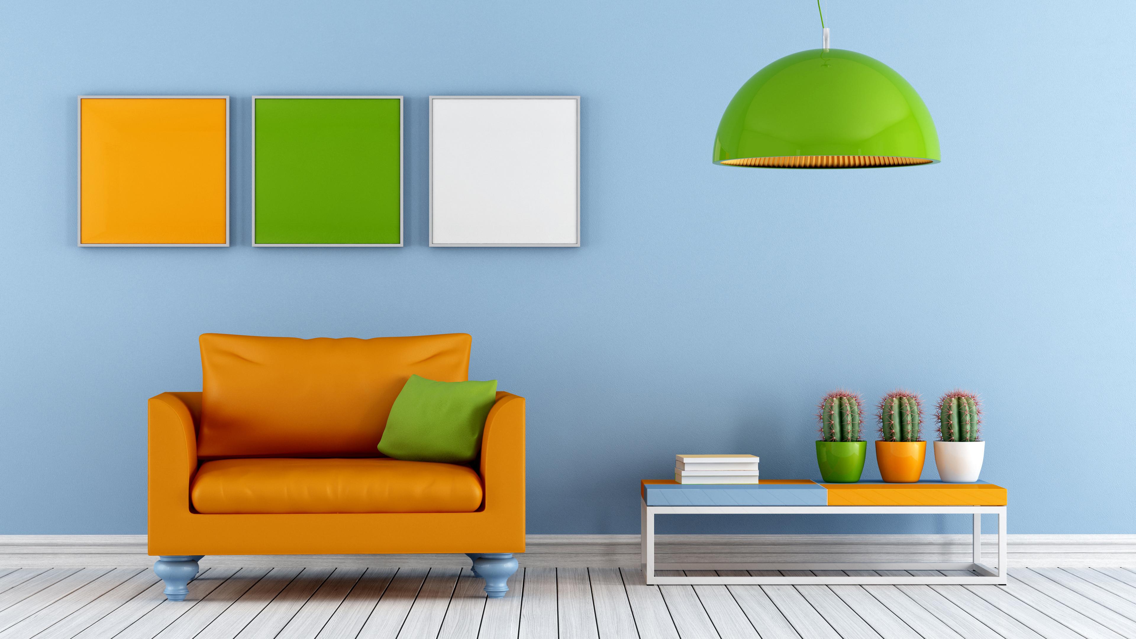 Интерьер-дизайн комнаты отдыха