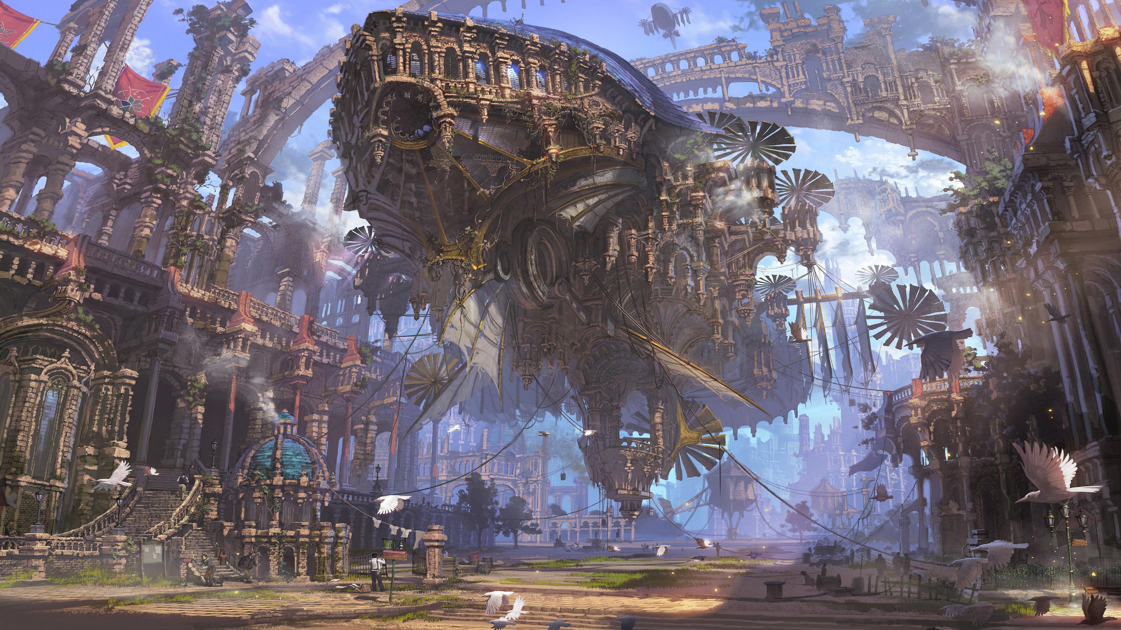 Фантастический корабль будущего
