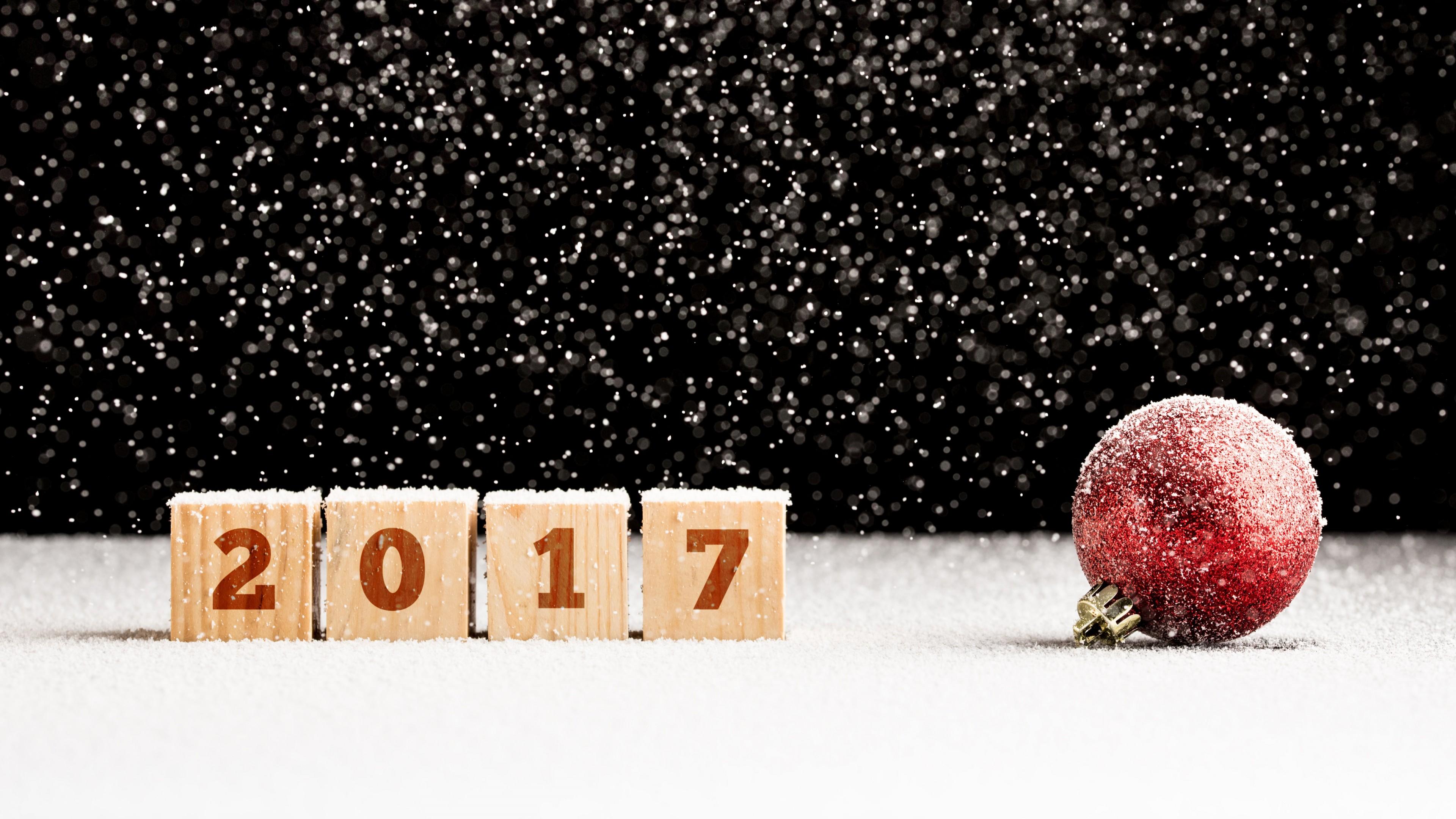 Снежный Новый год 2017