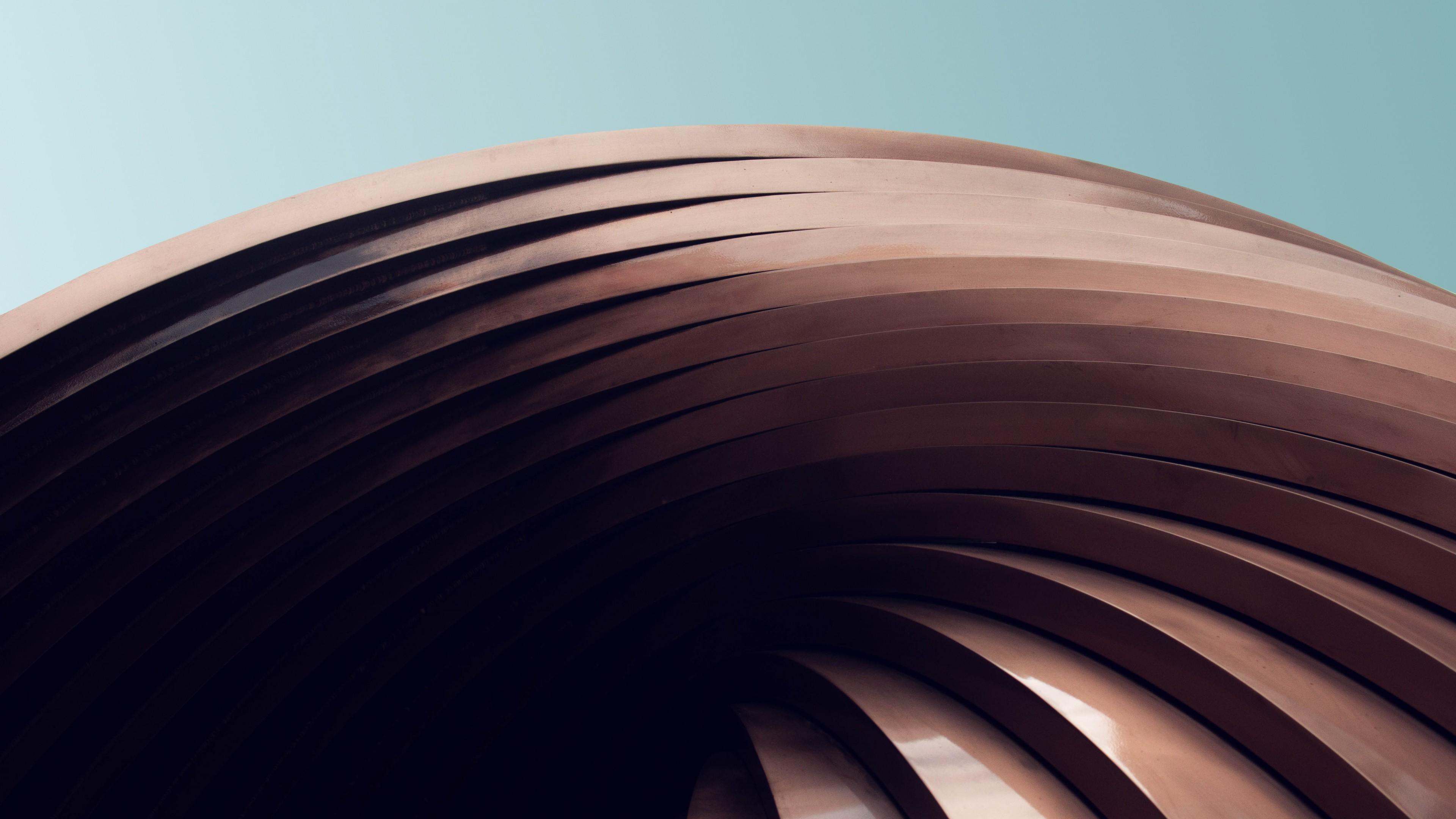 Абстракция шоколадного цвета