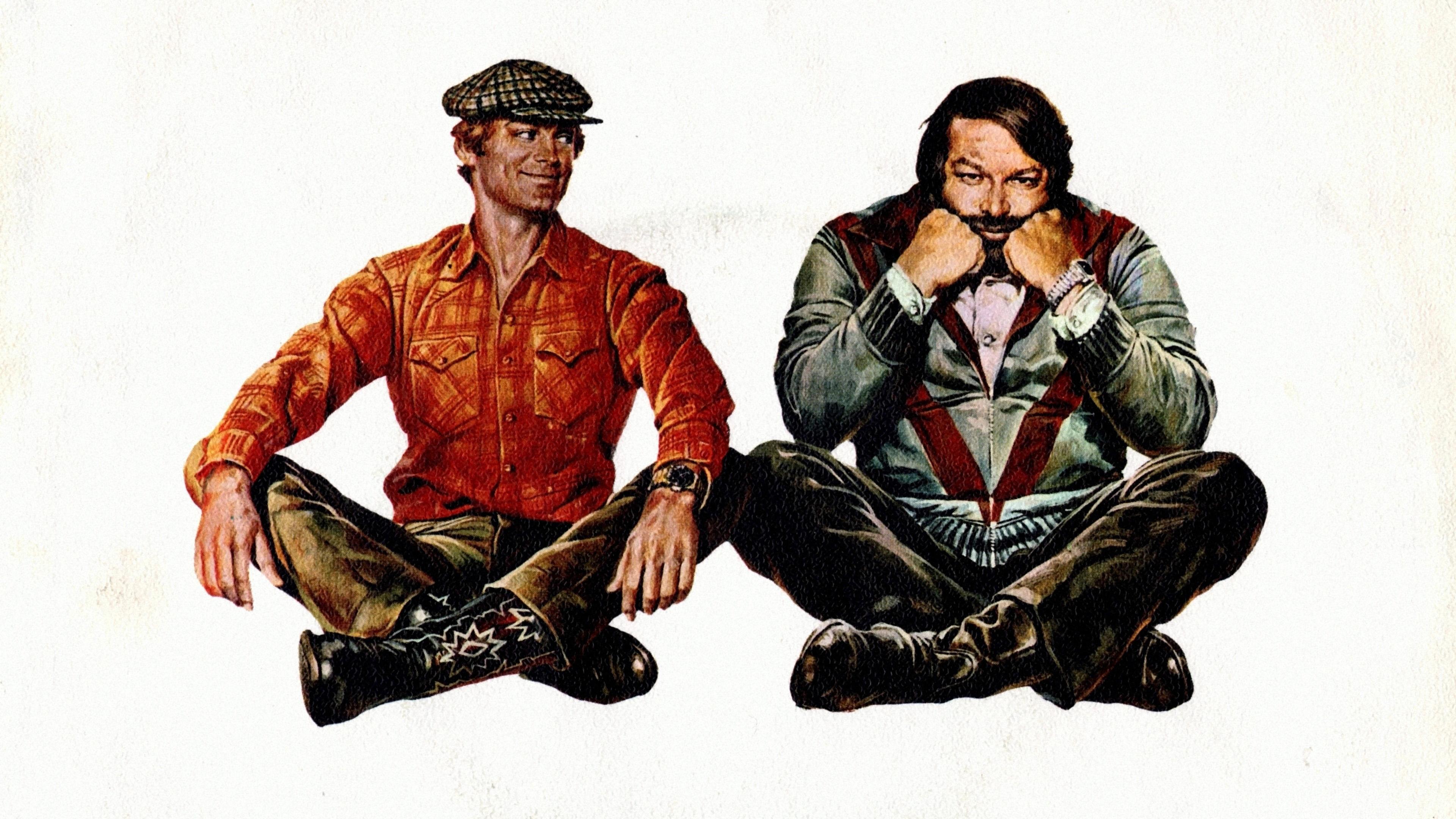 Реклама-плакат с главными героями комедии