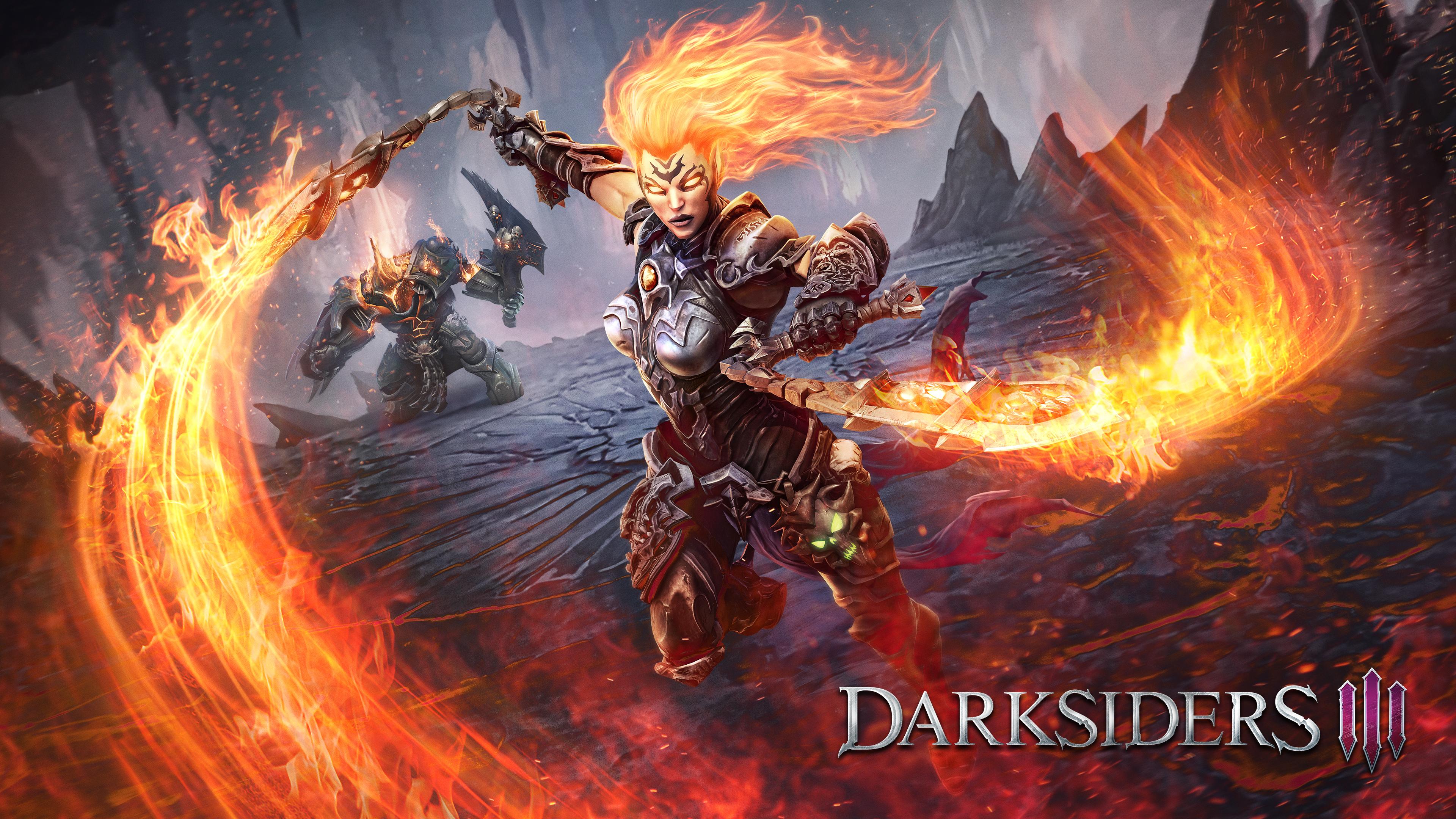 Огненные воины-демоны уничтожают жизнь на земле