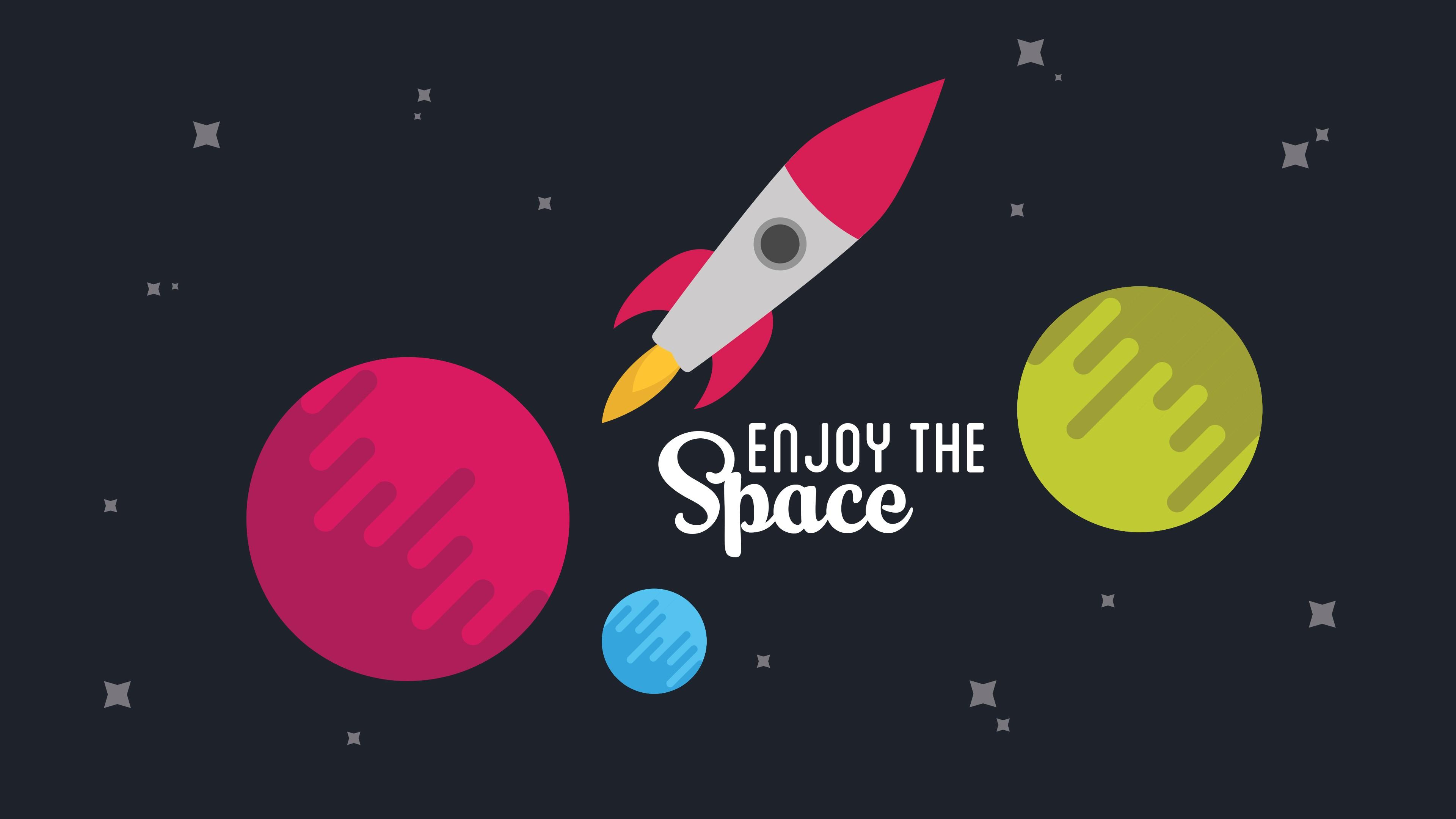Рекламный плакат Космическое путешествие в звездной Вселенной