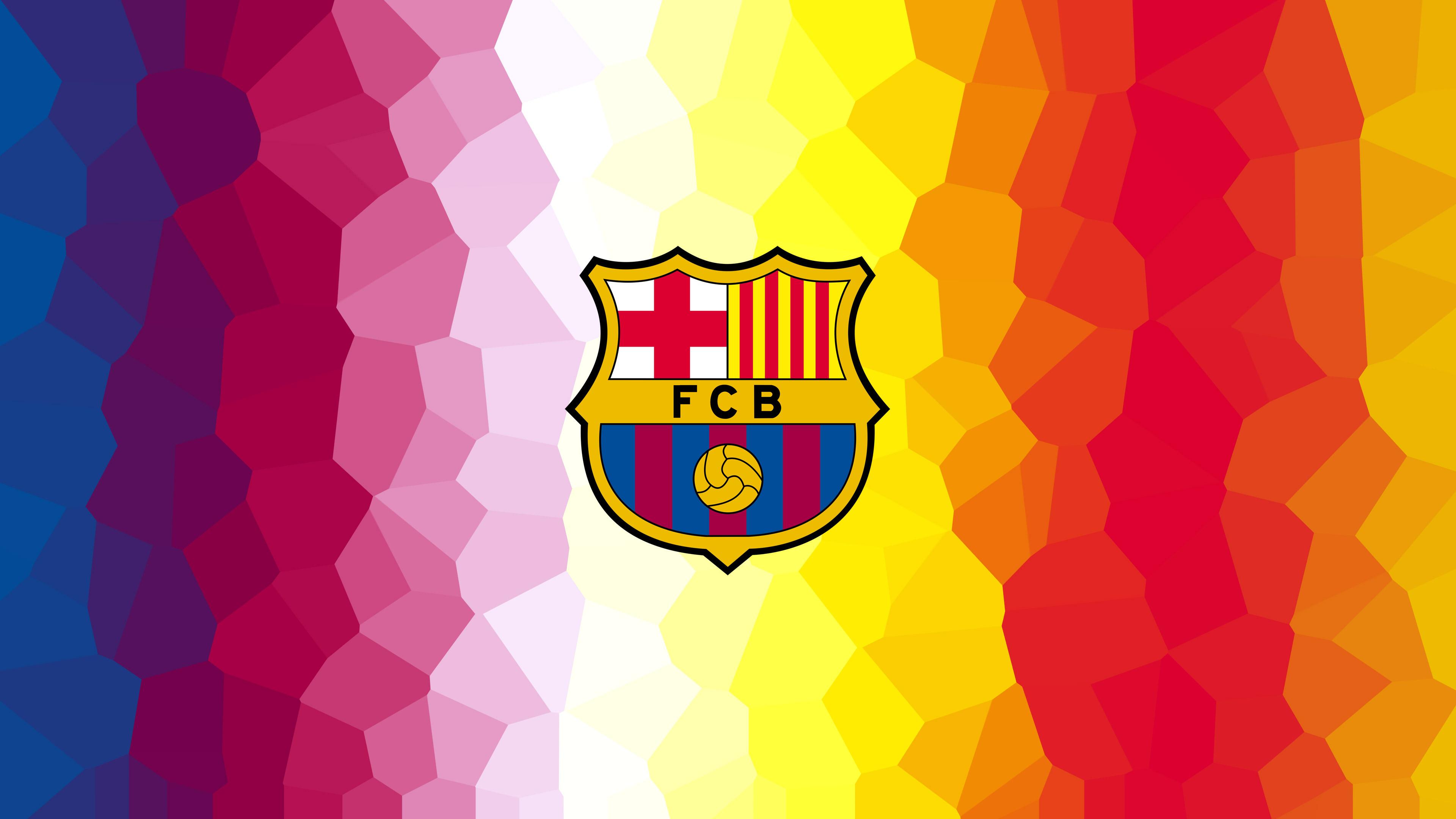 Эмблема профессионального футбольного клуба Барселоны