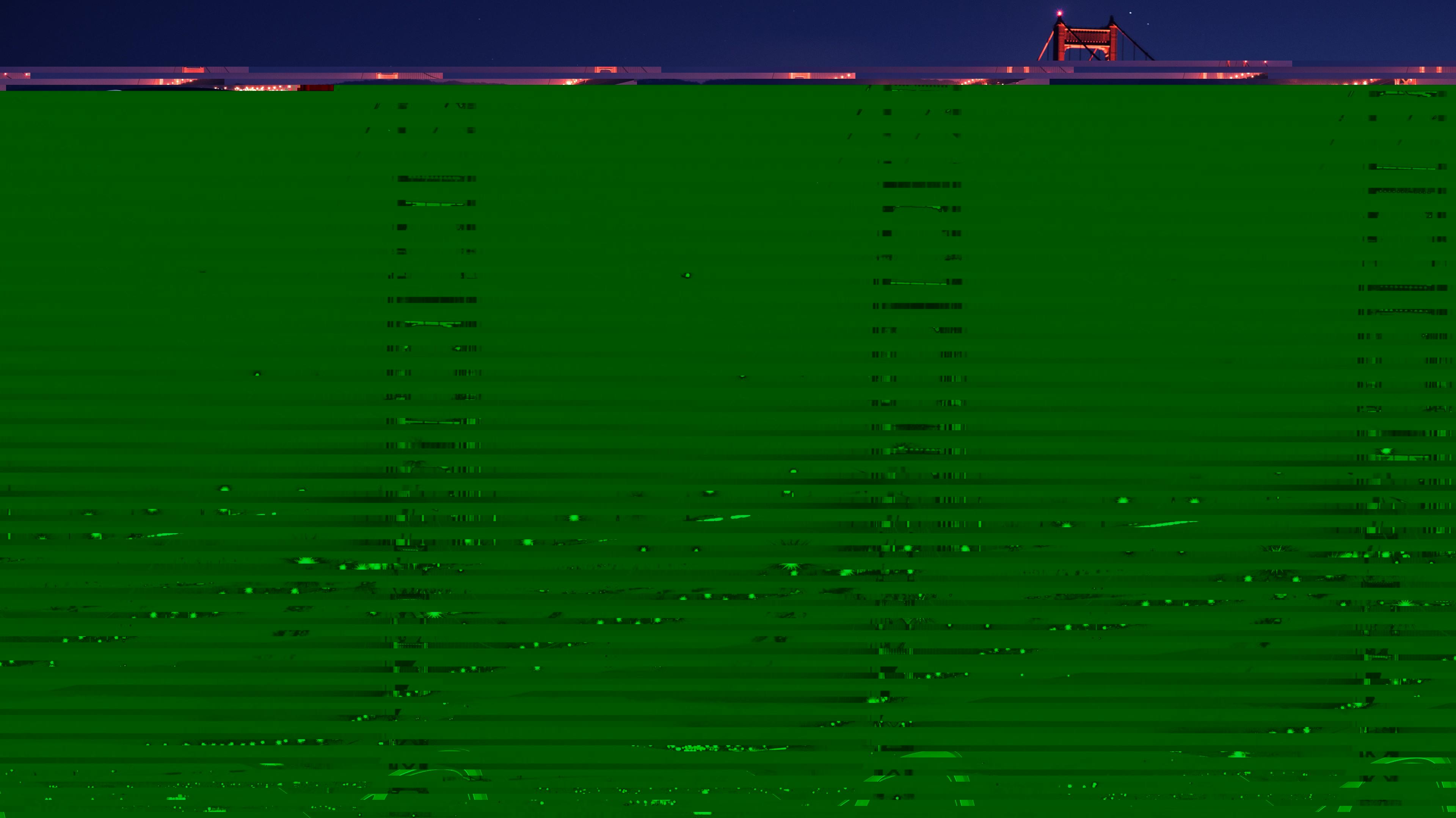 Темно-зеленые жалюзи с проникающим блеском неоновых огней