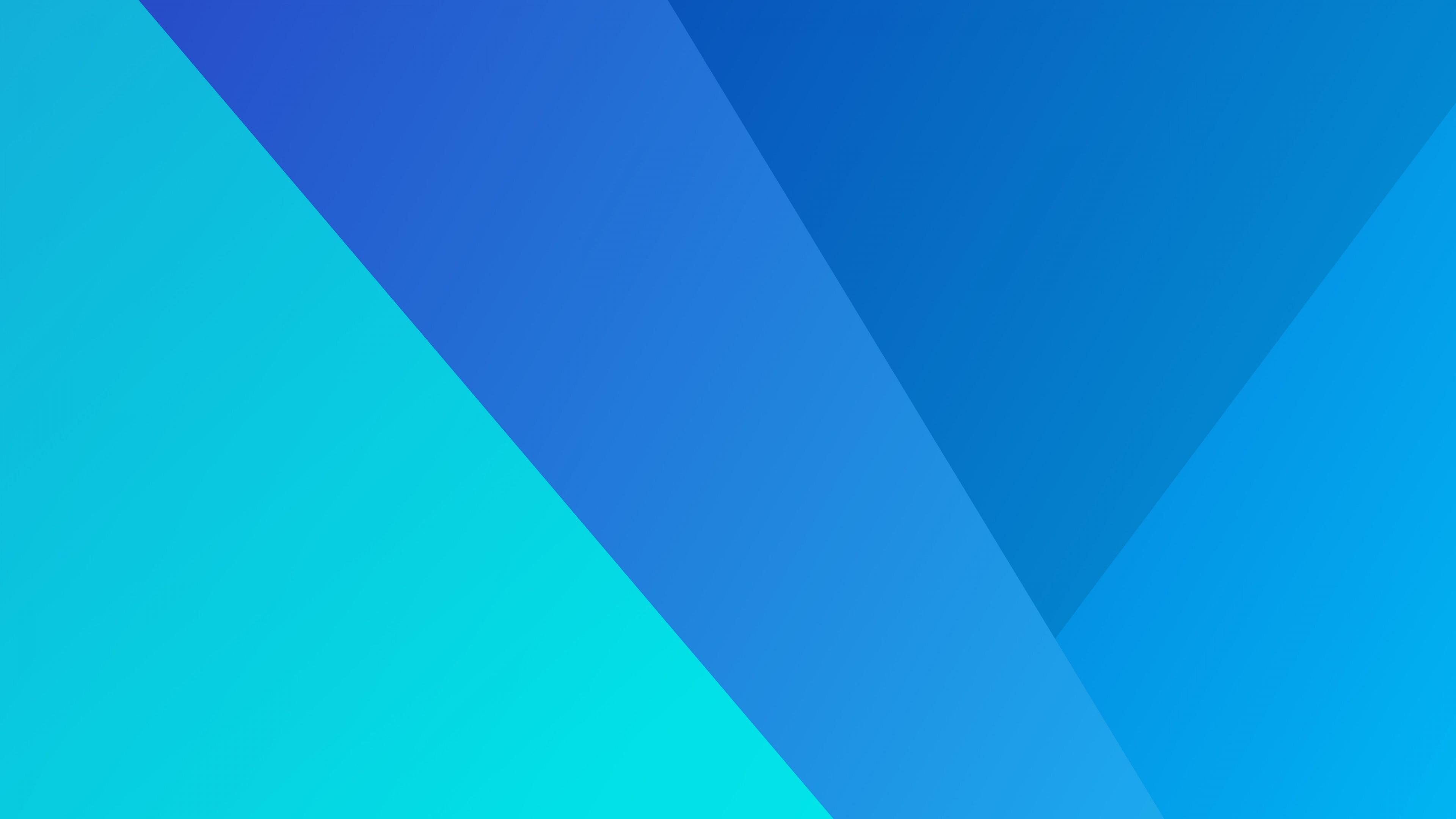 Графический дизайн с геометрическими формами в сине-бирюзовых тонах