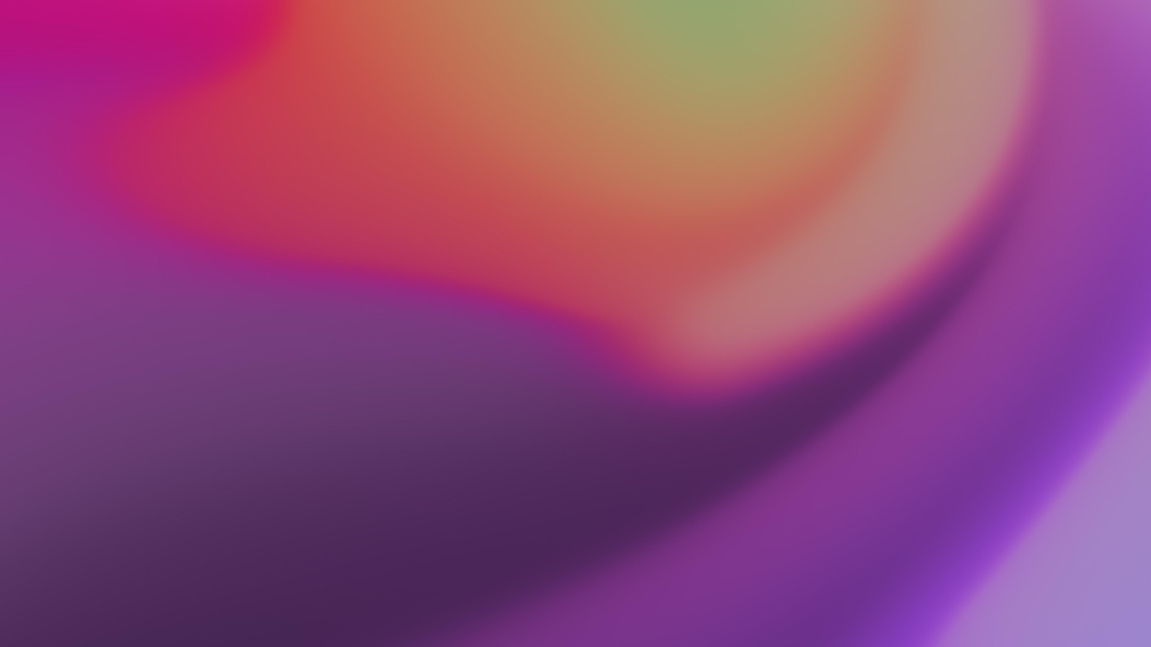 Желто-оранжевая абстрактная фигура в лучах ультрафиолета