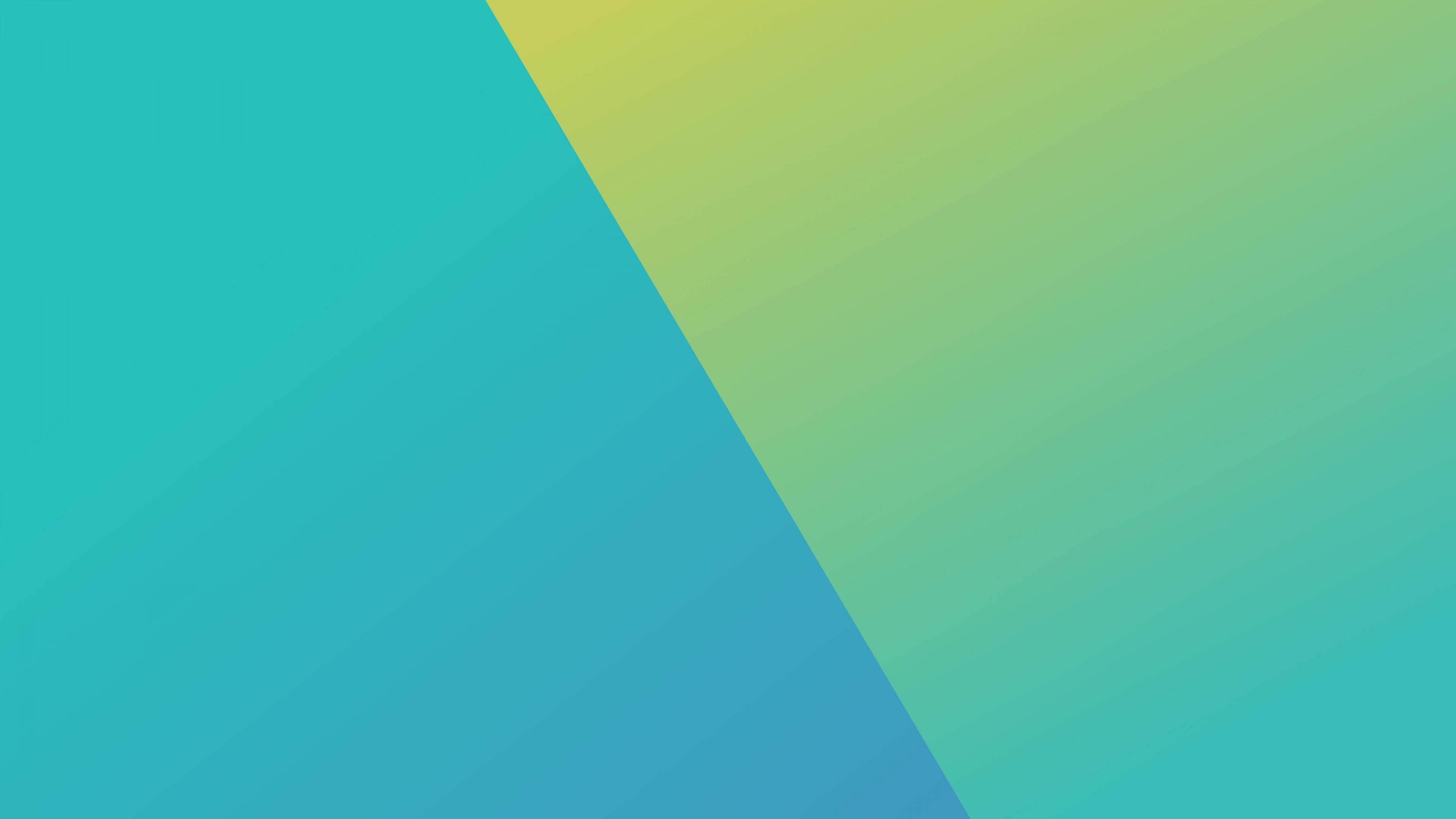 Геометрические фигуры синего и зеленого цвета
