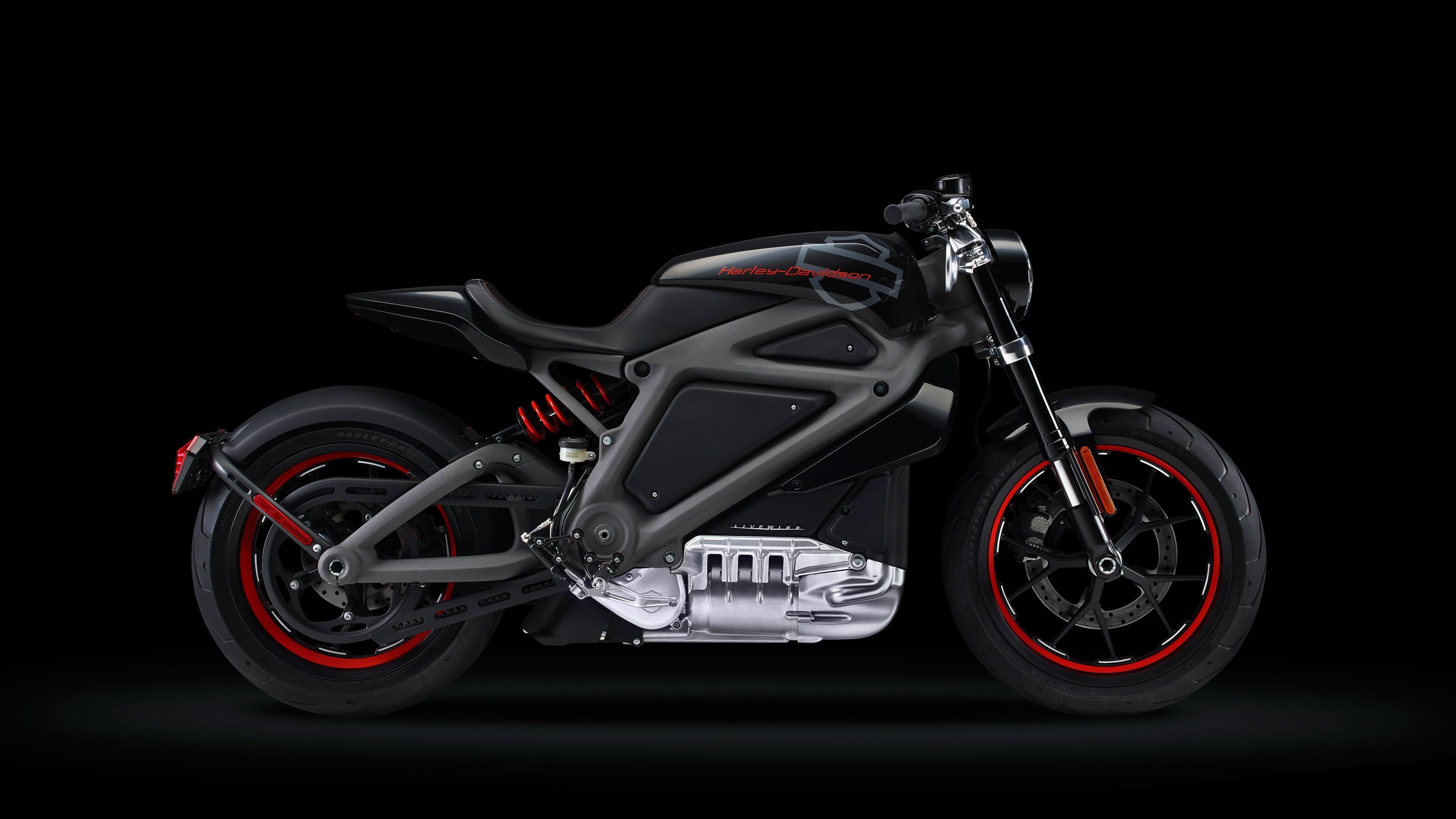 Экологически чистый мотоцикл в дизайнерском стиле